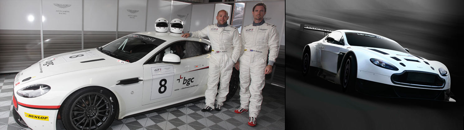 Apply to Test an Aston Martin Racing Car