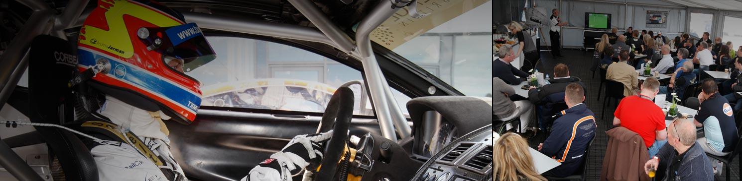 Apply to Test an Aston Martin Racing Car