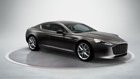 Aston Martin Rapide S Multimedia - Aston martin four door