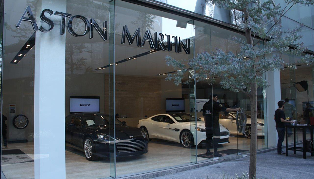 Aston Martin Mexico City Opening