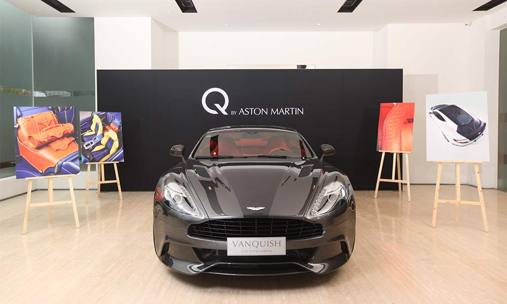 aston martin launches new showroom and world 39 s first q lounge in beijing. Black Bedroom Furniture Sets. Home Design Ideas
