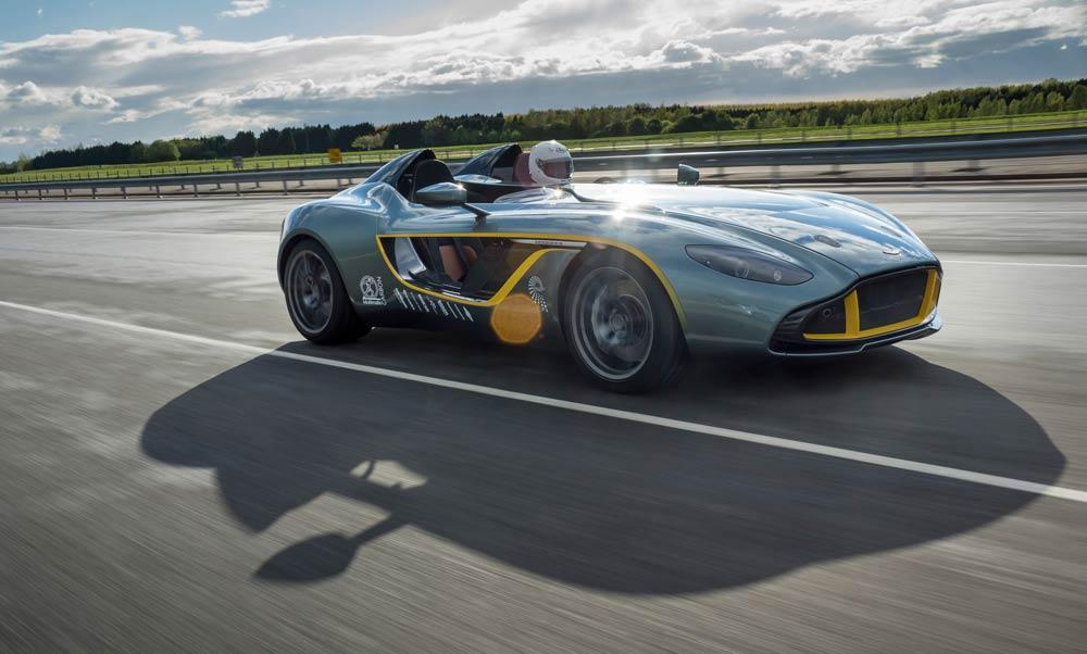 Aston Martin celetes at Goodwood Festival of Speed on