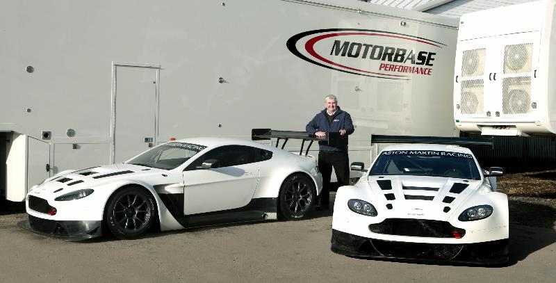 Motorbase Performance Team Boss David Bartrum has confirmed the GT squad's change of marque to run a pair of Aston Martin Vantage GT3s in 2014.