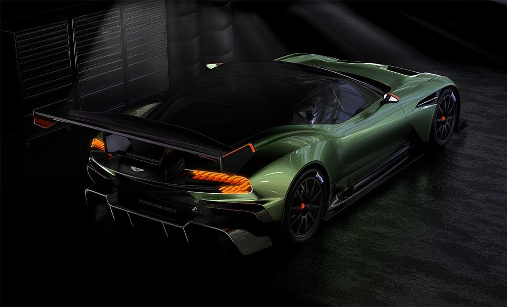Aston Martin Vulcan Prepare For Take Off