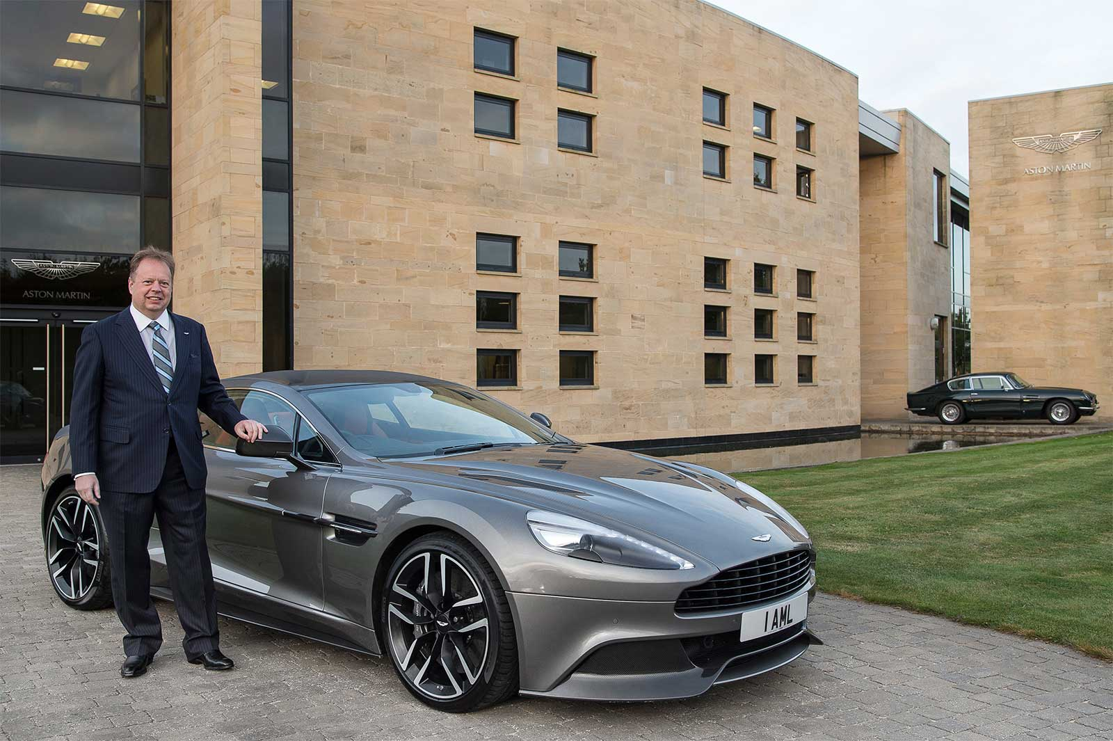 Andy Palmer On Board Today As Aston Martin Ceo