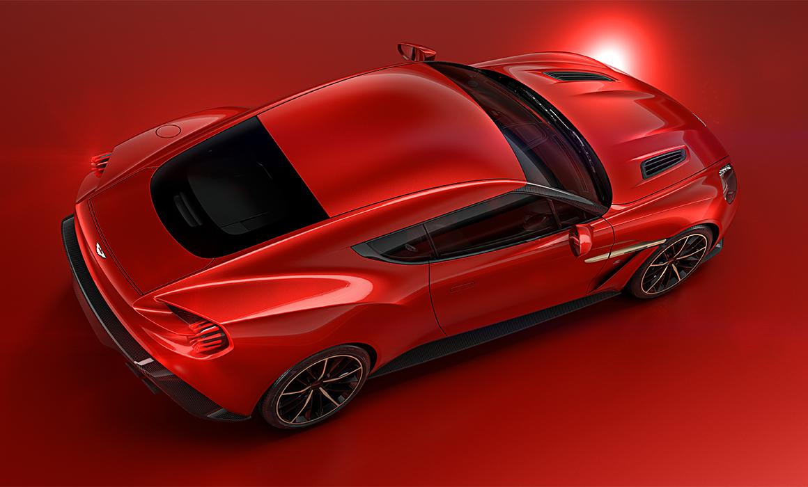 Aston Martin Unveils Vanquish Zagato Concept At Villa D Este